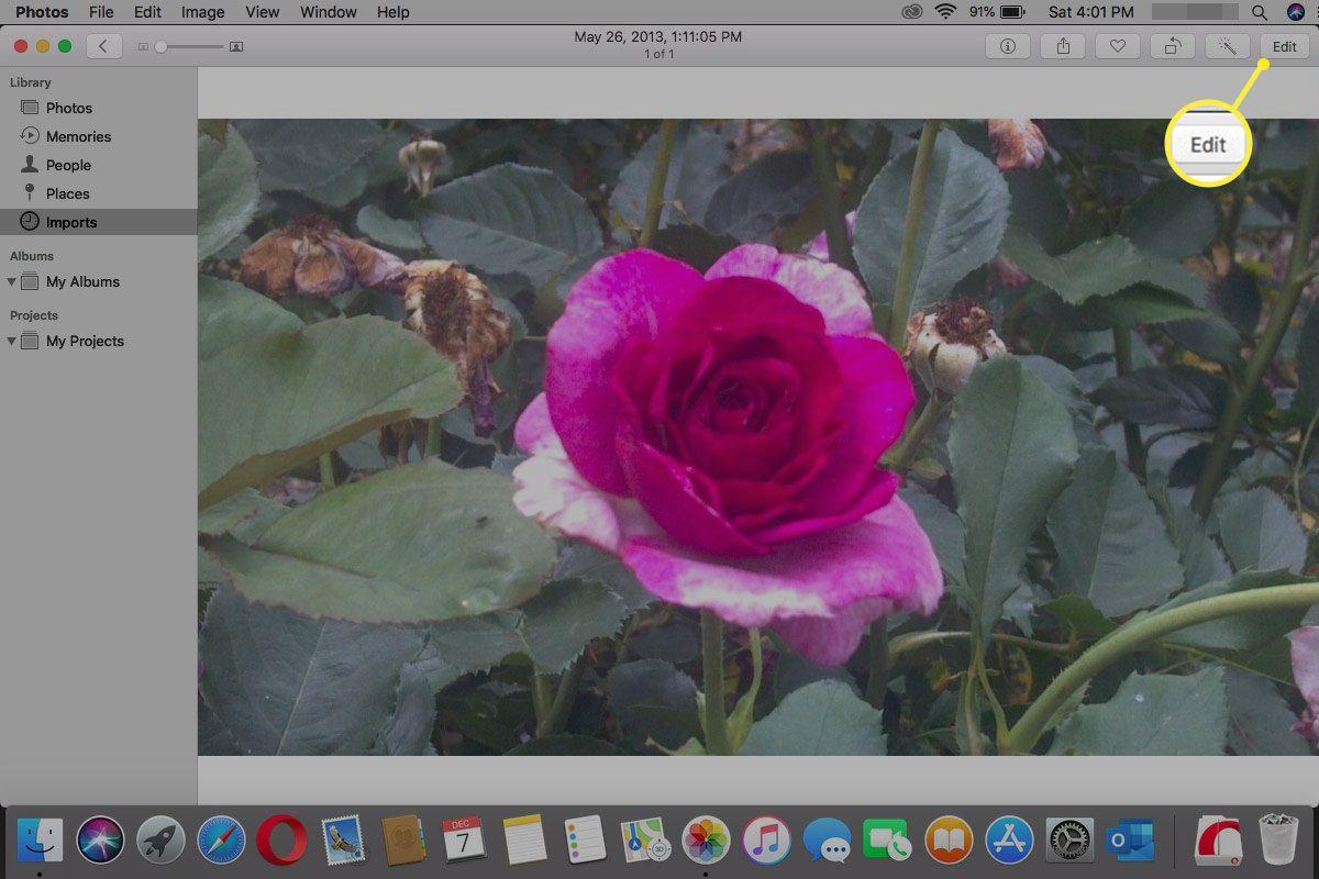 Photo > Edit