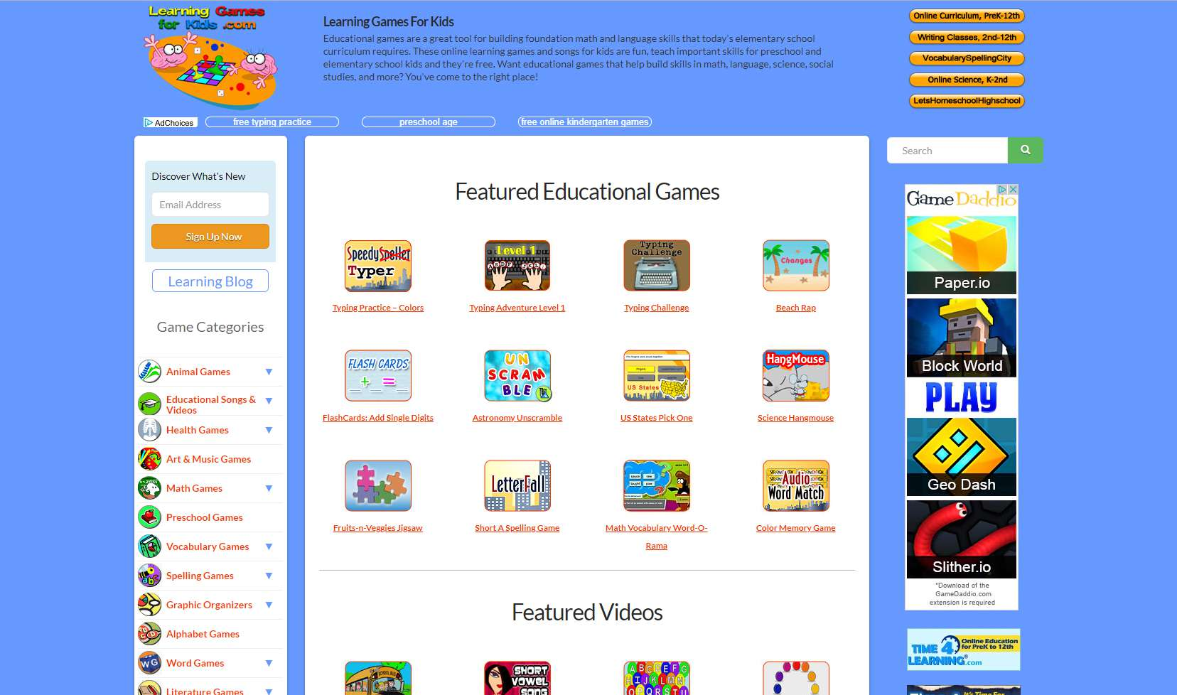 Top Places To Play Free Preschool Games