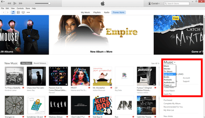 iTunes Store Screenshot