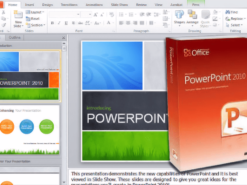 PowerPoint 2010 for Beginners - What's New