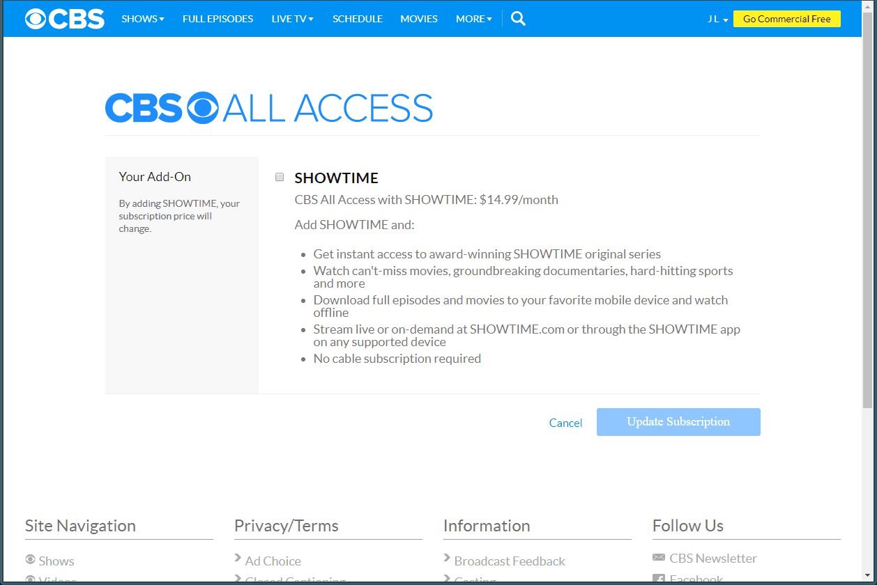 How to Use CBS All Access