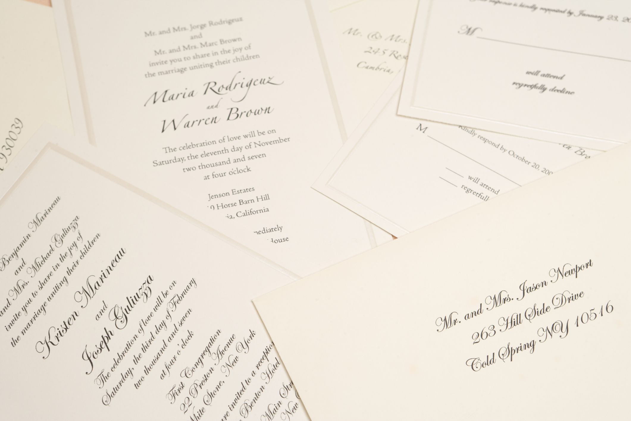 Best Colors For Your Wedding Invitations