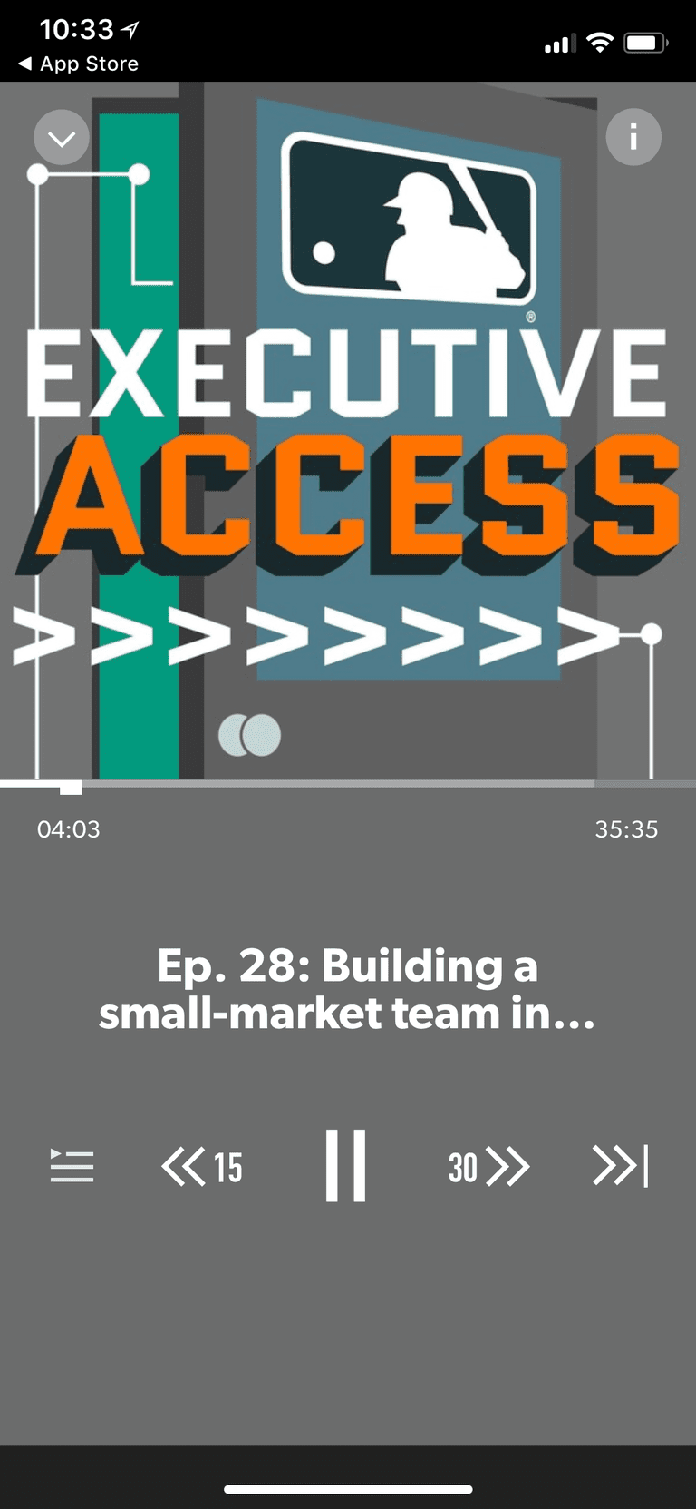 Executive Access podcast