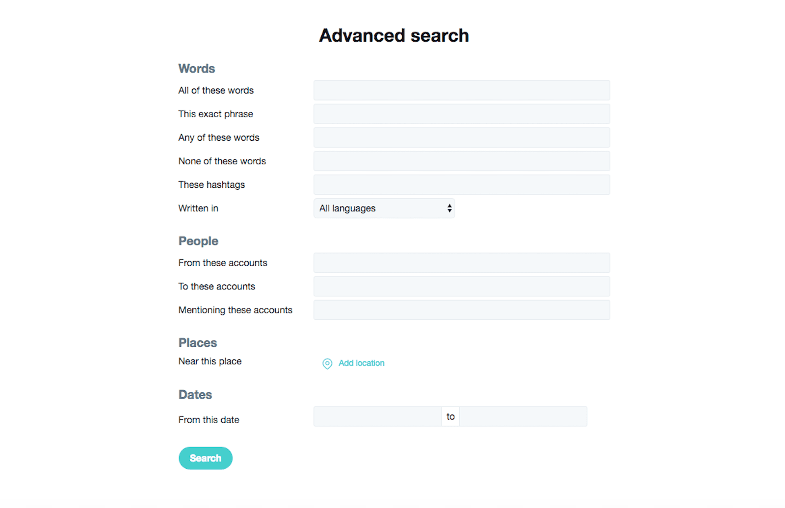 Find Tweets With Certain Words how to search your own tweets in your twitter feed