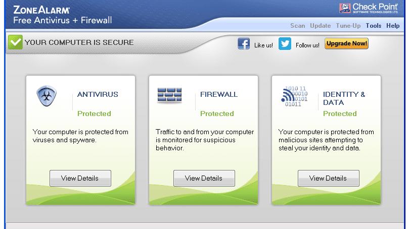 download zonealarm free antivirus + firewall 2018