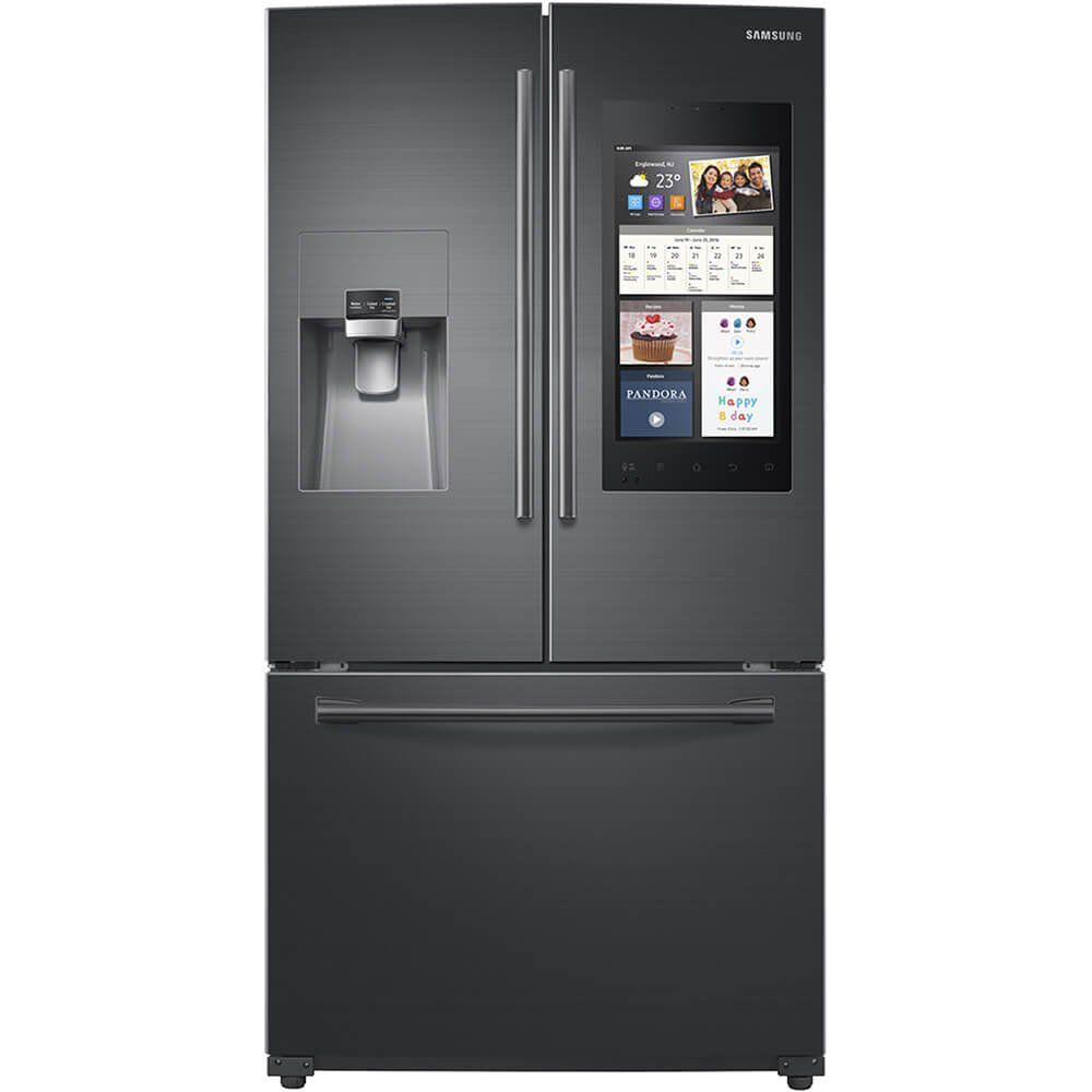 The 7 best smart fridges to buy in 2018 most family friendly samsung family hub french door refrigerator publicscrutiny Images