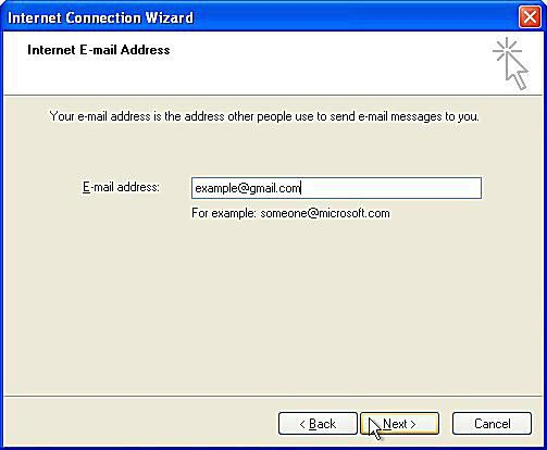 how to connect to imap gmail for outlook