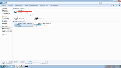 Mapped drives on Windows 7
