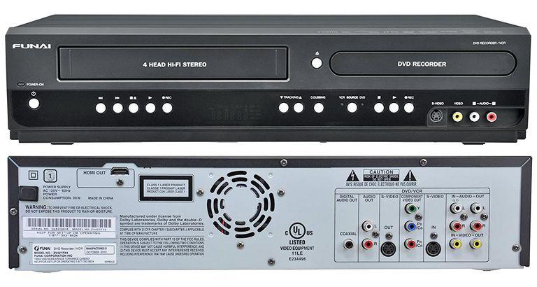 Funai DVD Recorder VHS VCR Combo