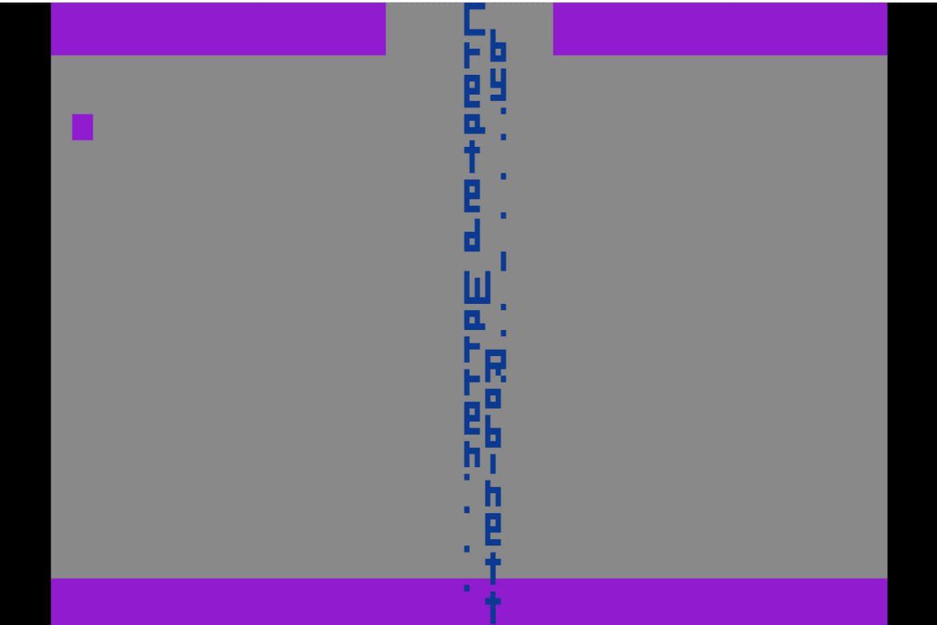 The secret Easter egg in Adventure for the Atari 2600
