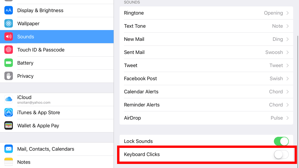 Why Doesn't My iPad Keyboard Make a Clicking Sound?
