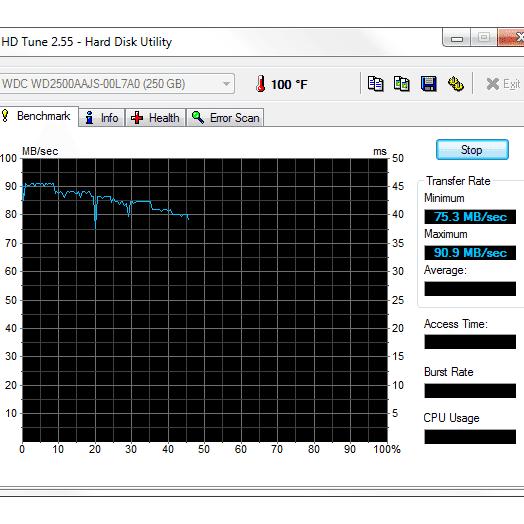 hd tune pro 5.50 serial