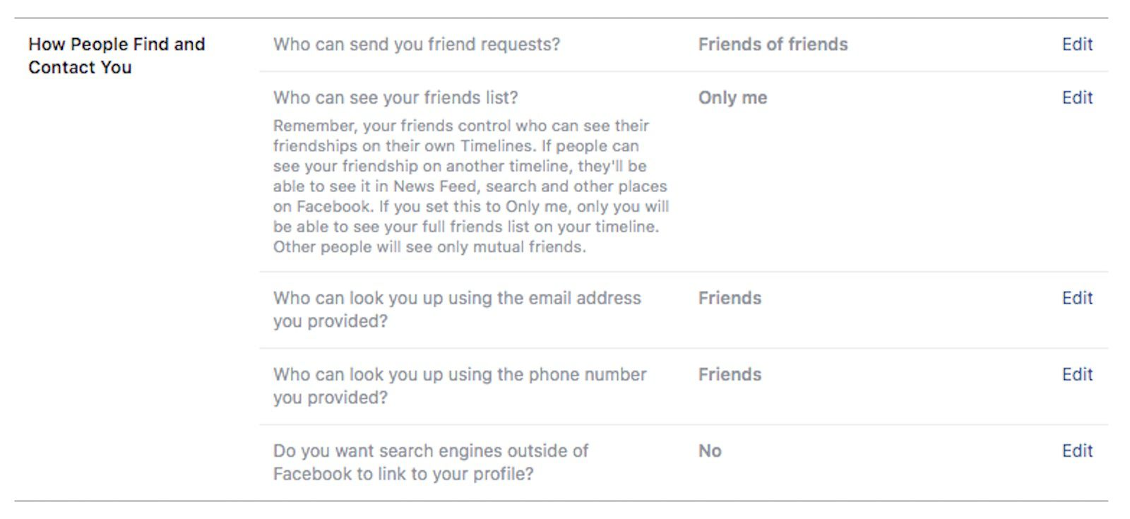 How to Block Searches of Your Facebook Profile