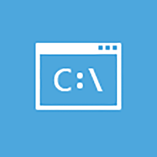 Screenshot of the Command Prompt icon on the Advanced Startup Options menu in Windows 10