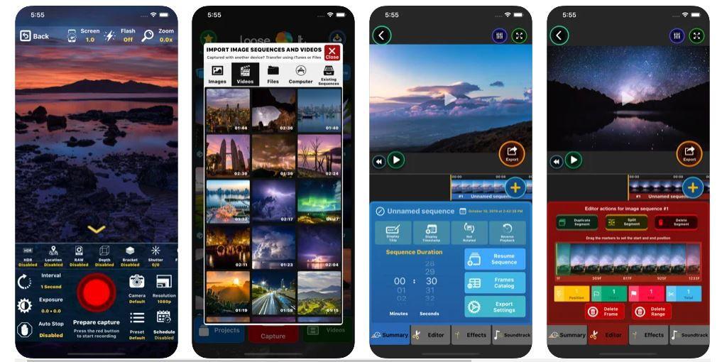 Lapse It screenshots