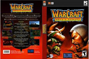 Warcraft: Orcs & Humans (PC) cover