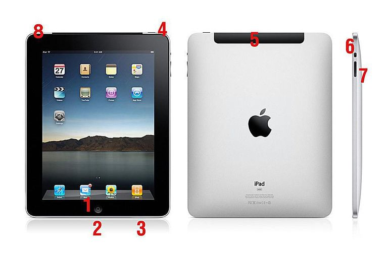 1st gen. ipad hardware