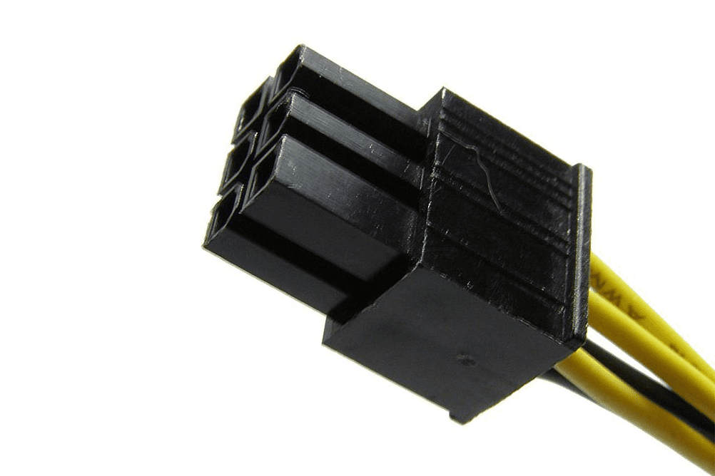 ATX 6 pin Motherboard Power Connector Pinout