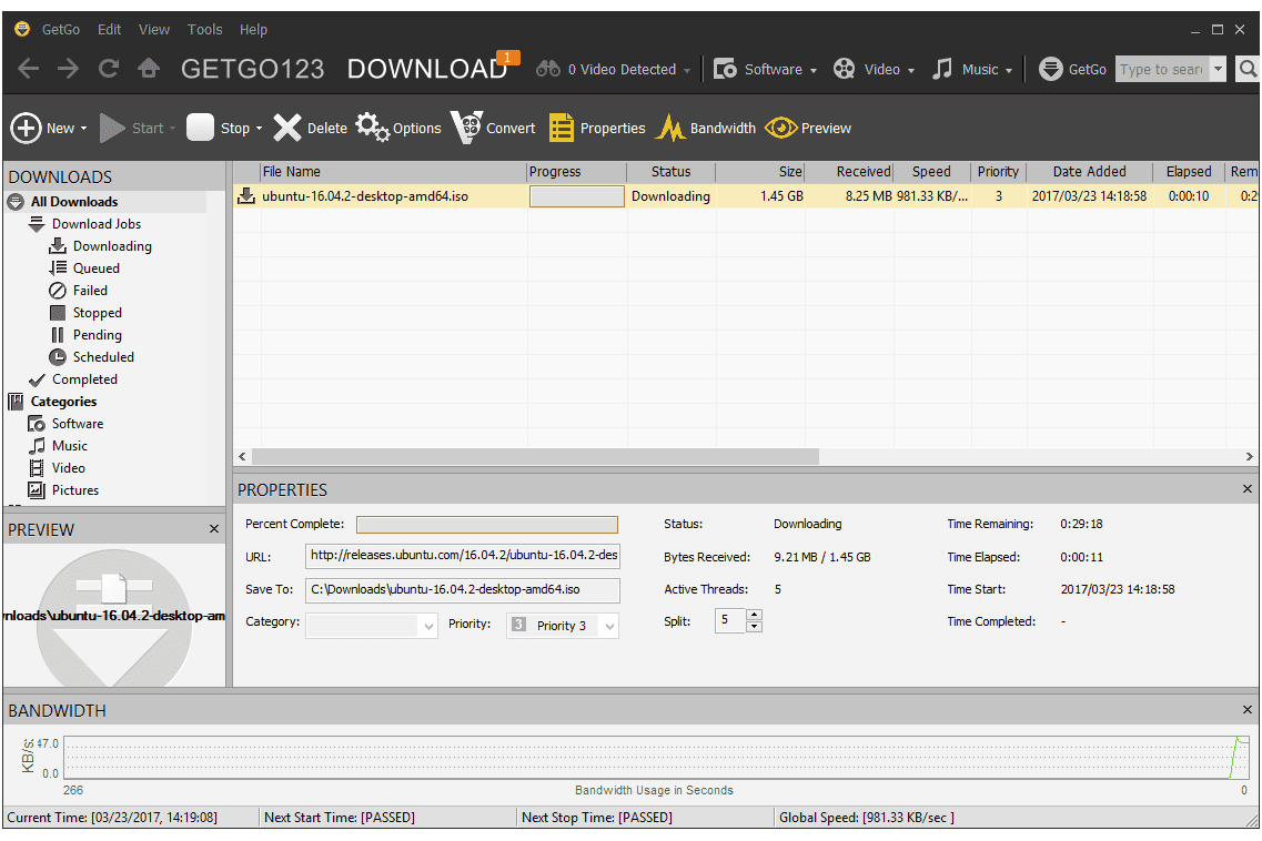 11 Free Download Managers Updated January 2019 Image Cat 5 Crossover Cable Diagram Pc Android Iphone And Getgo Manager