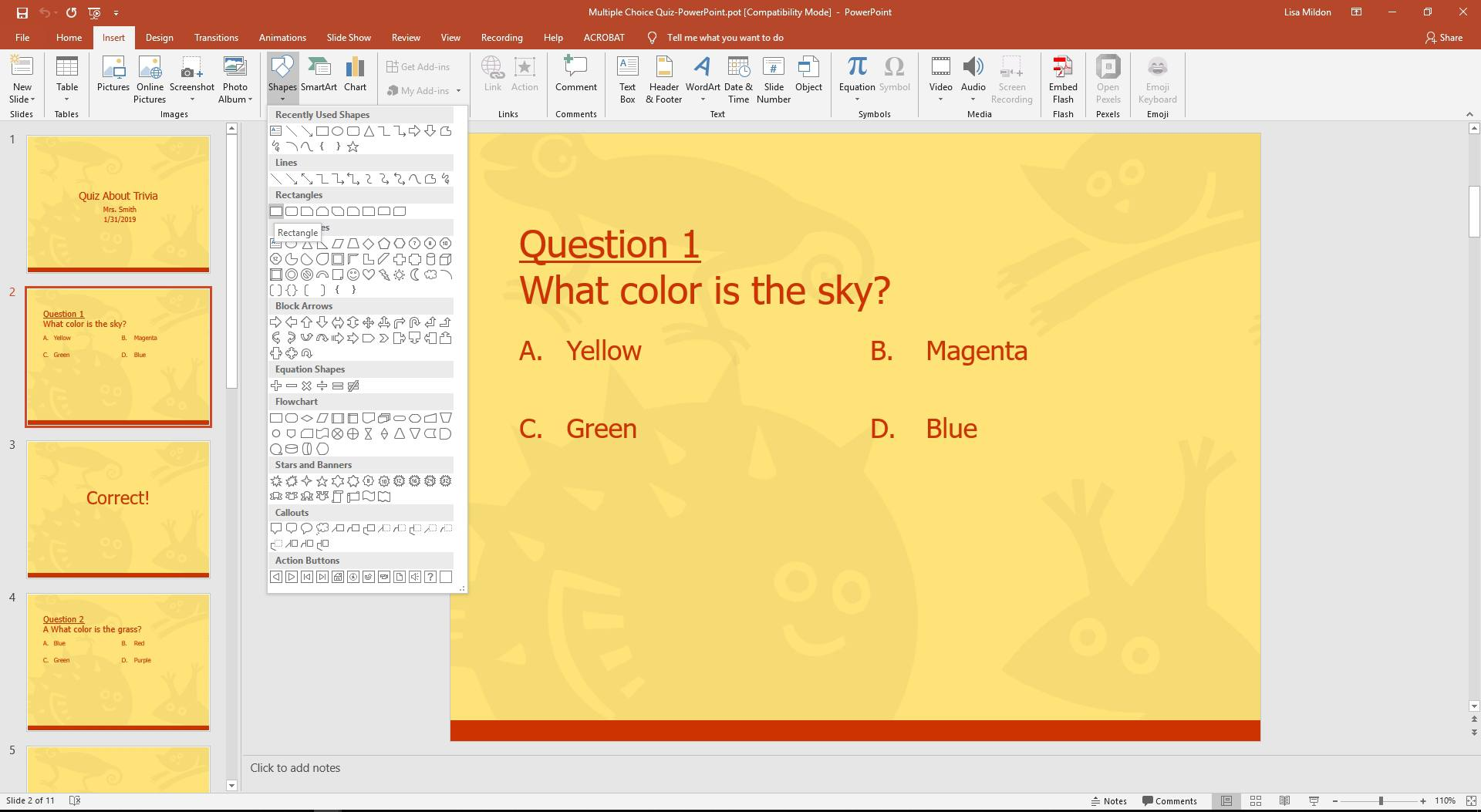 ms office 2010 multiple choice questions and answers pdf