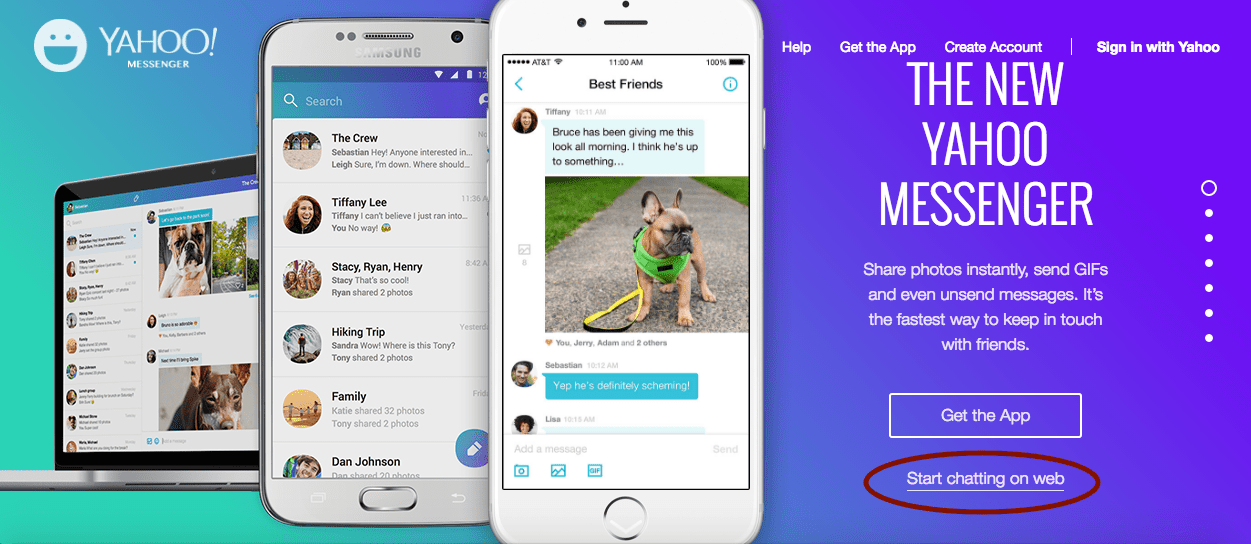 How to Use Yahoo Messenger Without Downloading an App