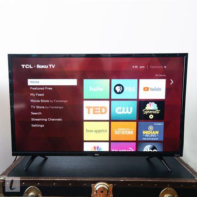 TCL 32S325 32-inch 720p Roku Smart LED TV (2019)