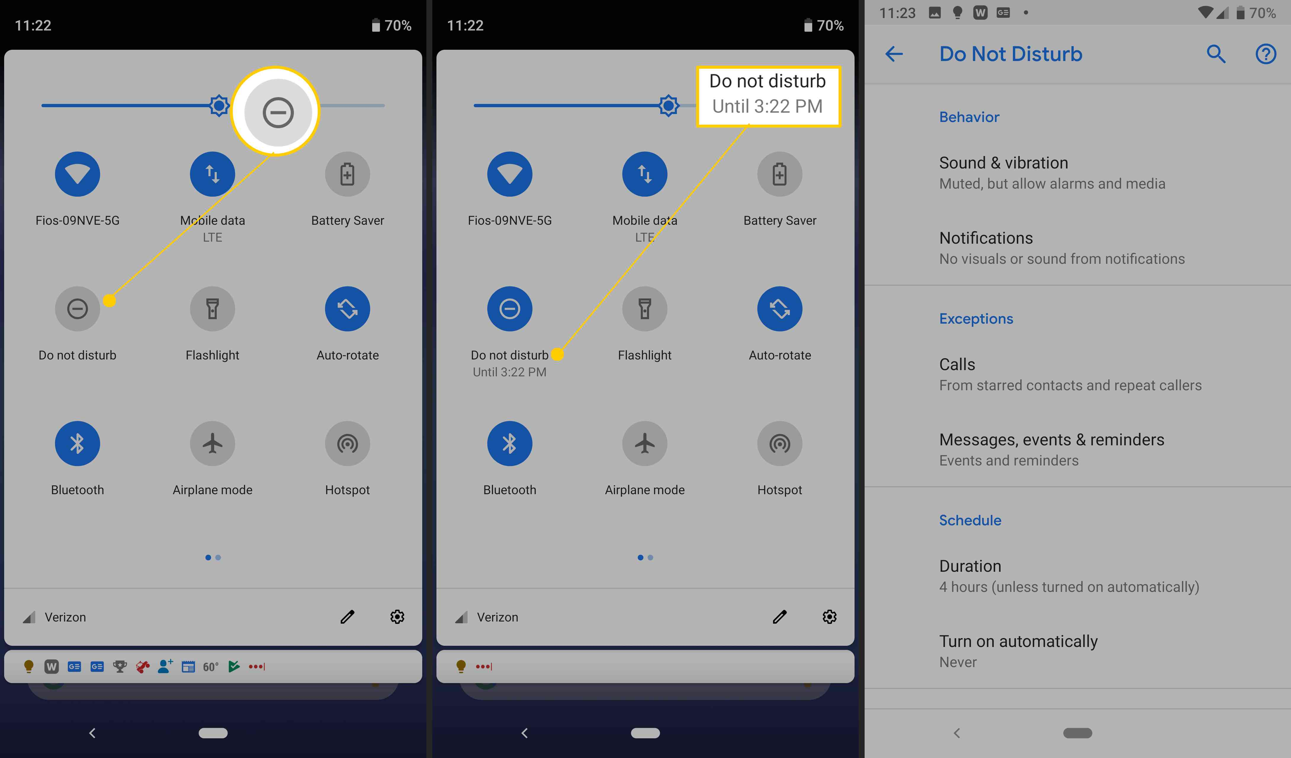 How To Use Do Not Disturb On Android