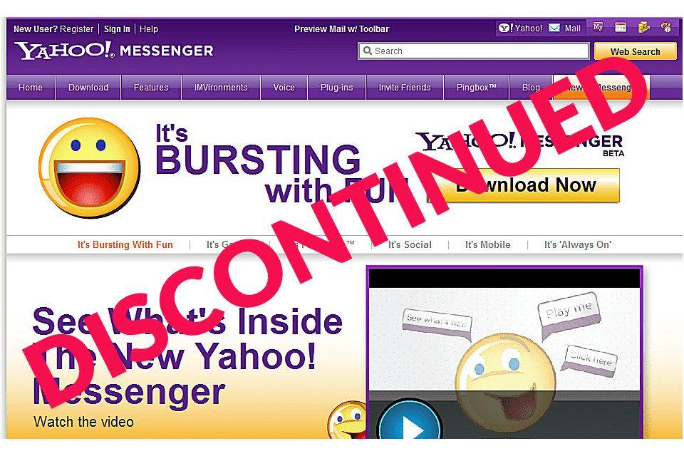 download yahoo messenger full version