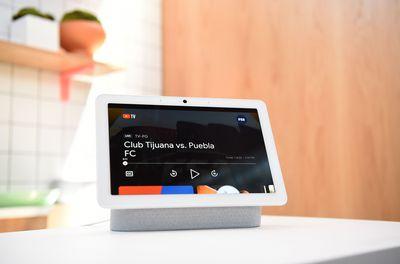 Google Nest Hub On Display