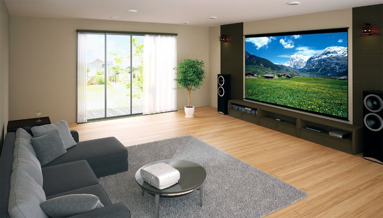 Epson Video Projector with 4K Enhancement - Lifestyle Image