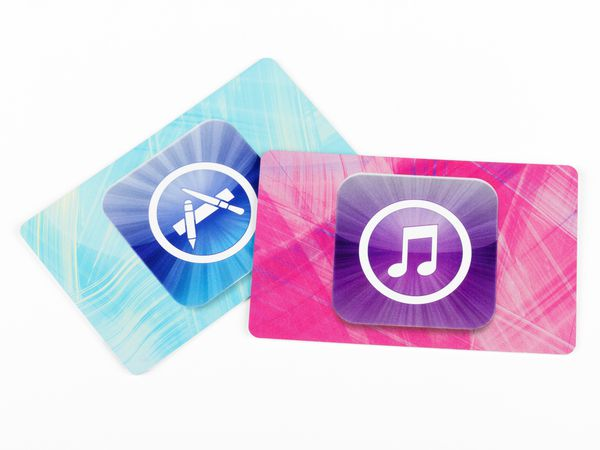 Apple iTunes Store cards