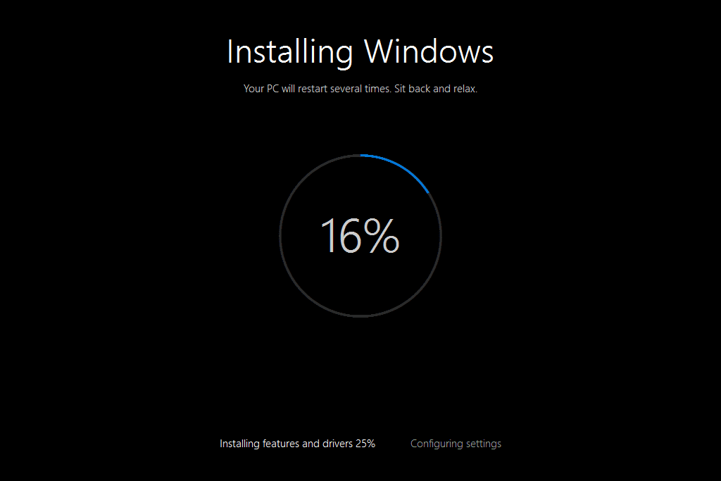 Image result for process of windows 10 installation