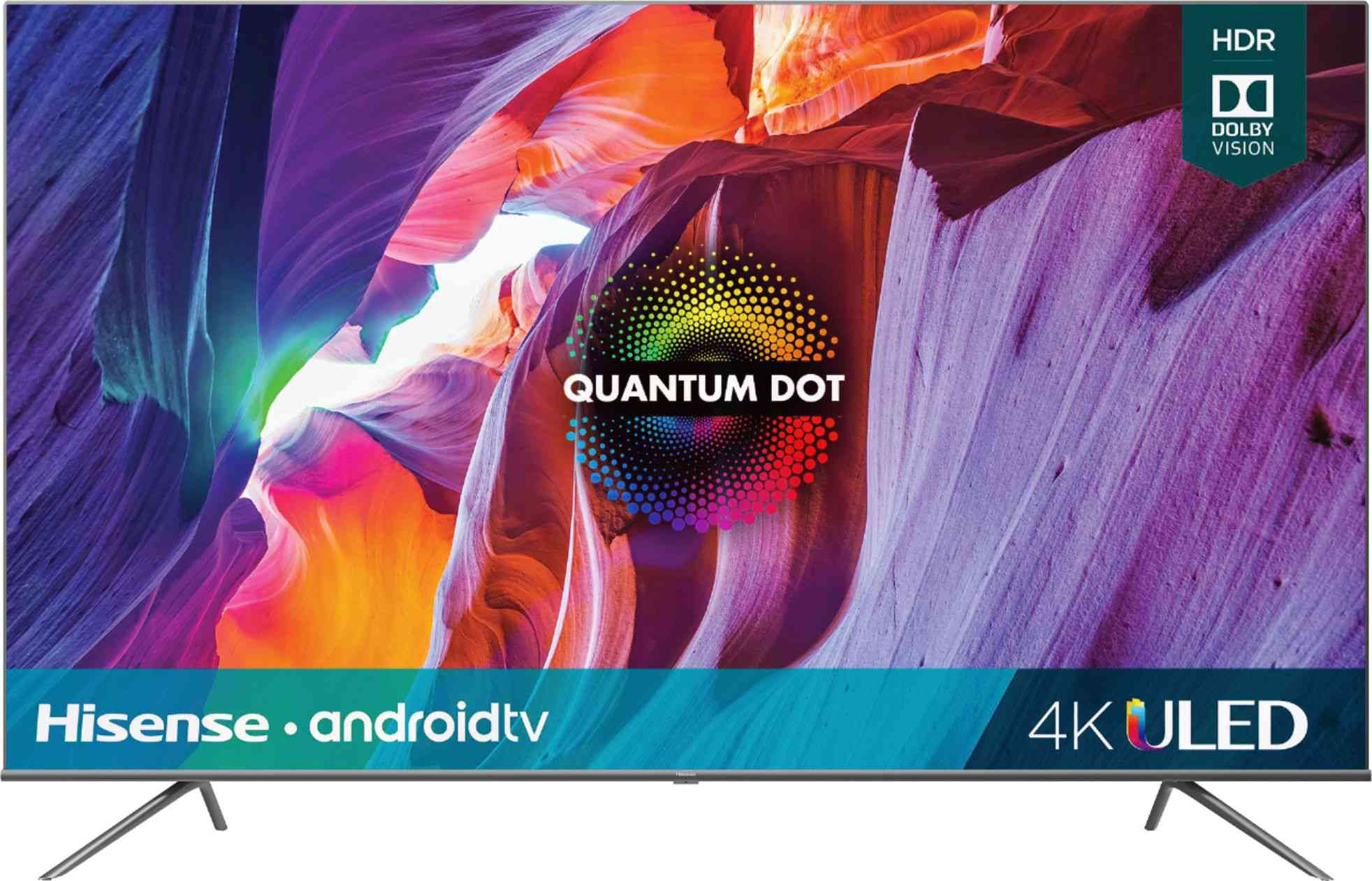 "Hisense - 75"" Class H8G Quantum Series LED 4K UHD Smart Android TV"