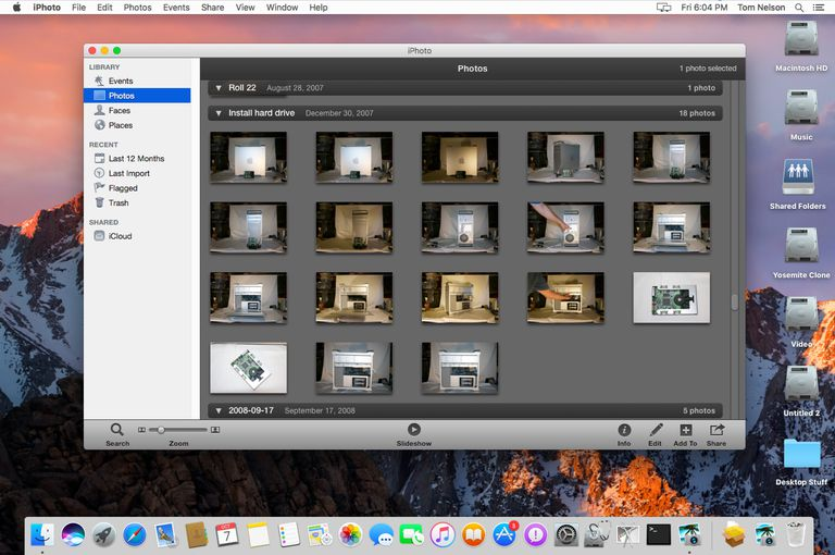 How to Upgrade to iPhoto 9, Part of the iLife '11 Suite