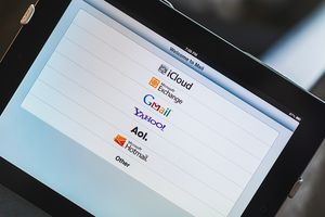 Setting up e-mail on an iPad