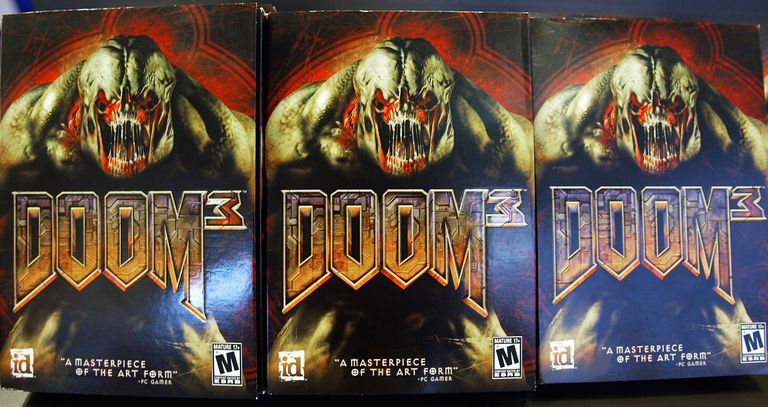 Violent Video Game Doom 3 Hits Shelves