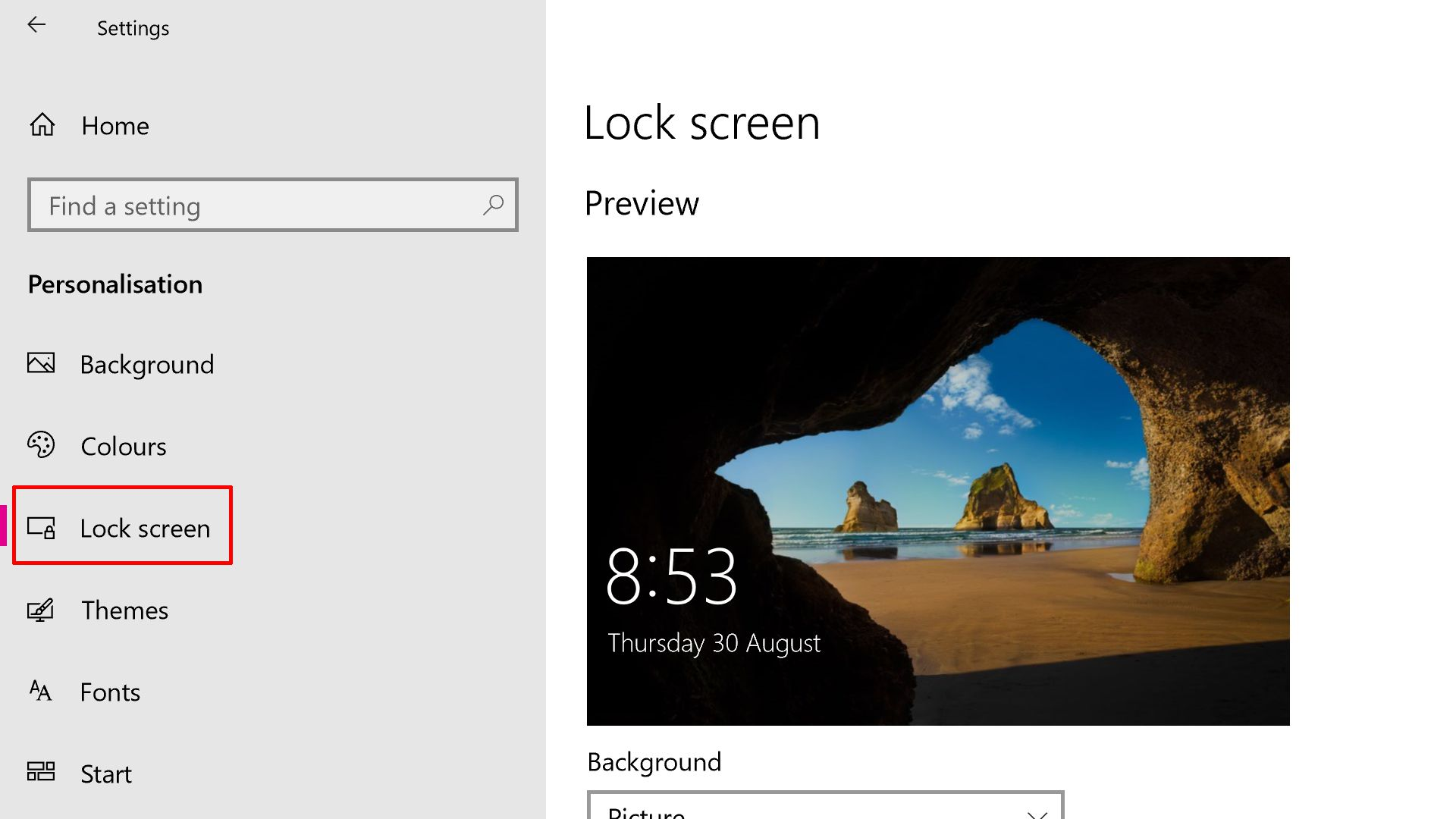 How to Change the Windows 10 Login Screen Background