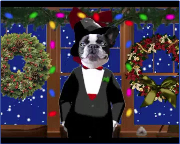 Frank Sonatra free Christmas e-card