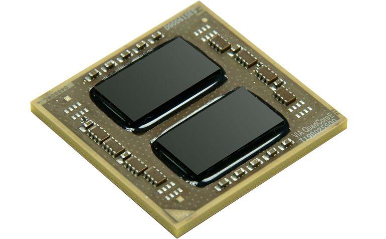 VIA QuadCore E-Series Processor