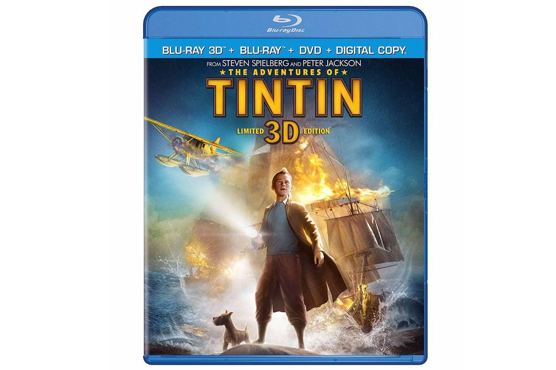 The Adventures of Tin Tin - 3D Blu-ray