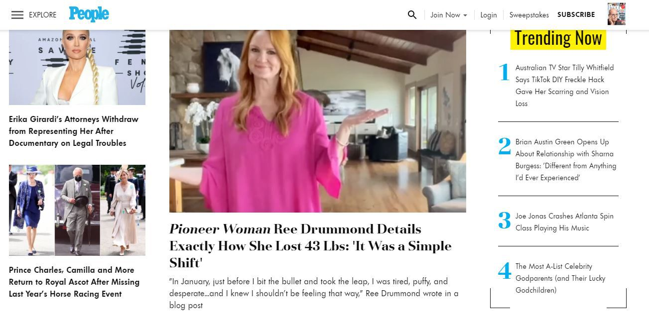 People magazine online