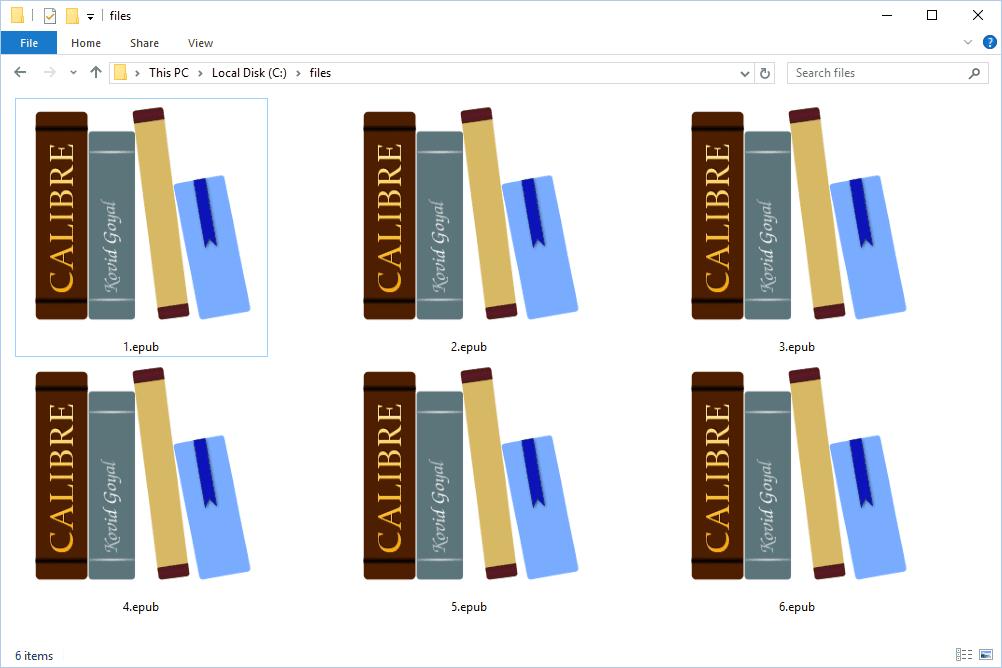 EPUB Files
