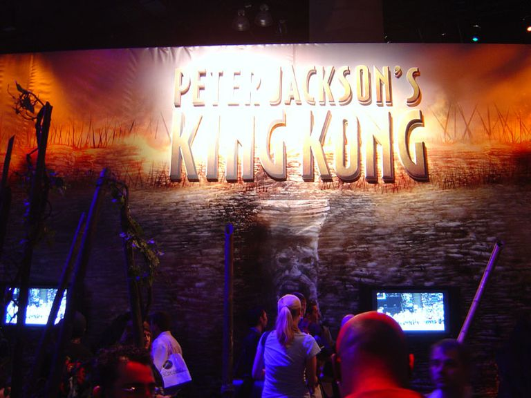 E3 2005 Peter Jackson's King Kong booth