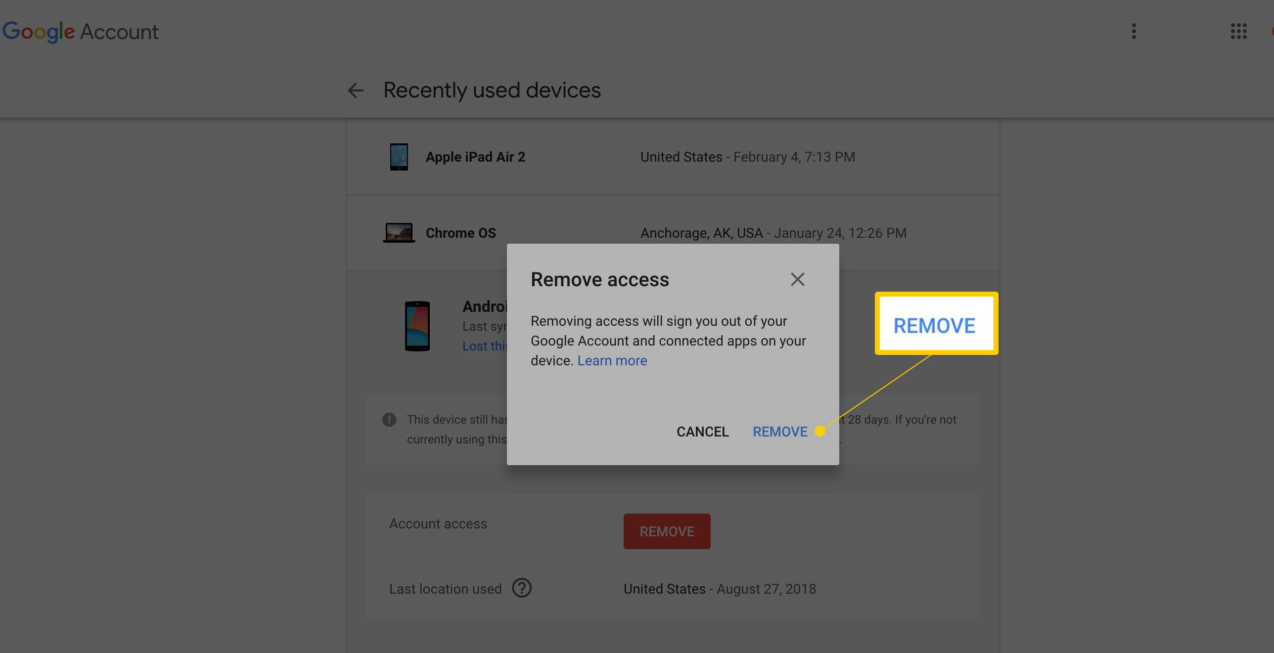How to Log Out of Gmail From Any Device