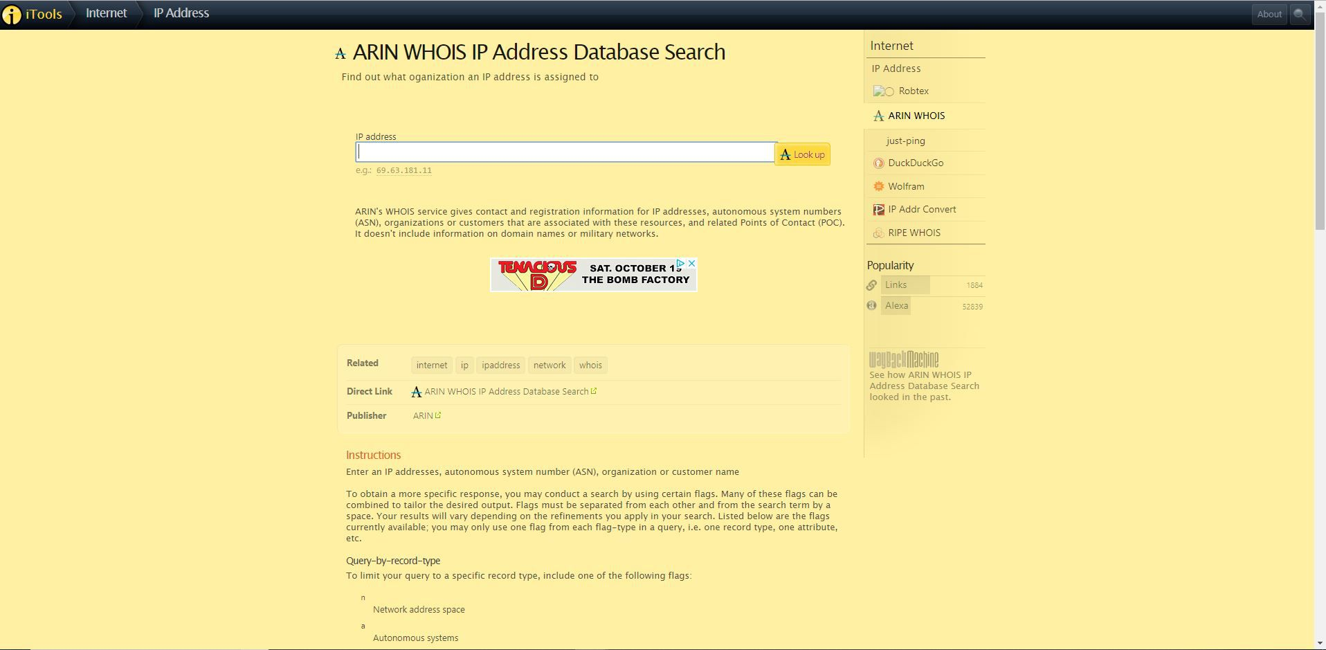 How to Look up an IP Address Owner