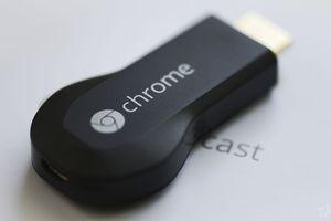 A second-generation Chromecast dongle