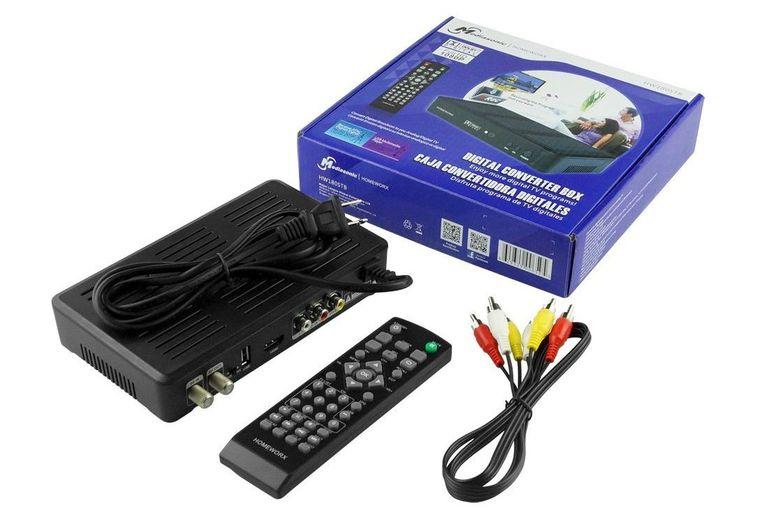 Mediasonic Homeworx HW180STB DTV Converter Box