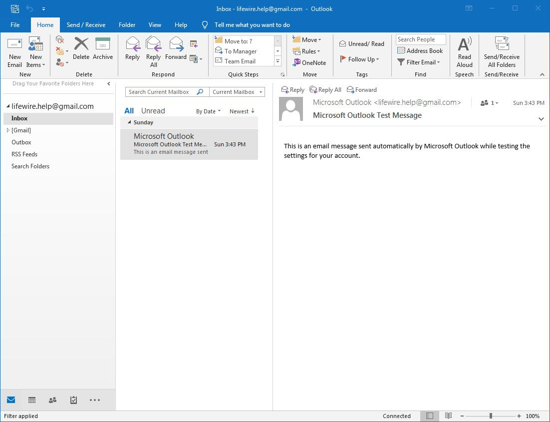 How to Access Gmail with Outlook Using IMAP