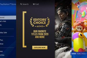 PlayStation Store on the PS4