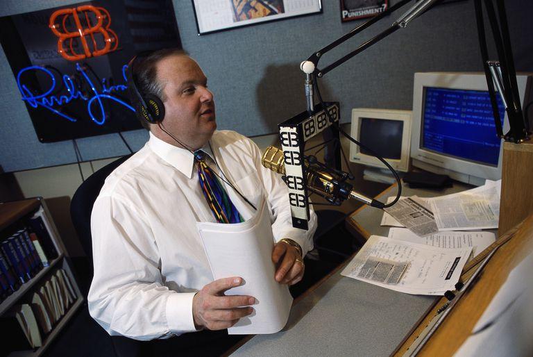 Rush Limbaugh on radio show